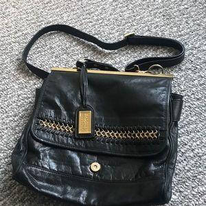 Badgley Mishka Leather Saddle Bag